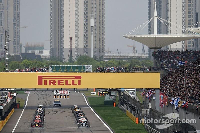 Météo - La pluie pourrait perturber la course du Grand Prix de Chine