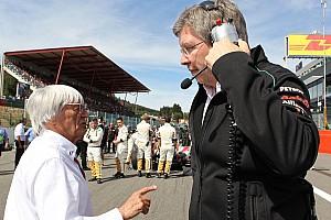 """Formule 1 Nieuws Brawn: """"Ik zou niet kunnen samenwerken met Ecclestone"""""""