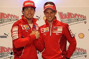 MotoGP Hommage Stoner sur Hayden :