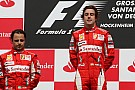 Com dobradinha, Ferrari encerra jejum de 130 GPs na F1