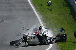 Formel 1 Historie Vor 10 Jahren: Der fürchterliche F1-Crash von Robert Kubica in Montreal