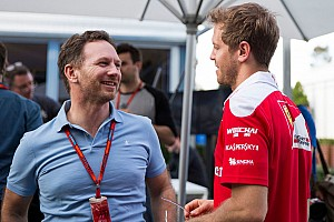 Horner sobre Vettel: