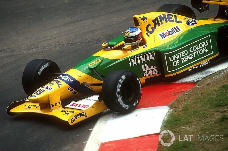 El coche en que Schumacher ganó su primera carrera volverá a la pista