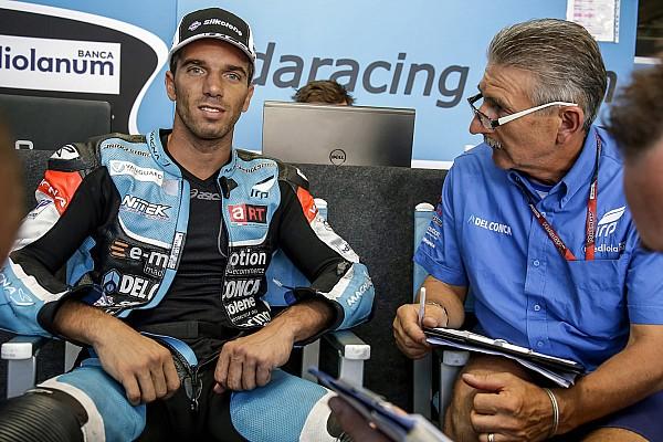 Siméon blessé, Alex De Angelis de retour en Moto2