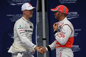 Formule 1 Réactions Hamilton: