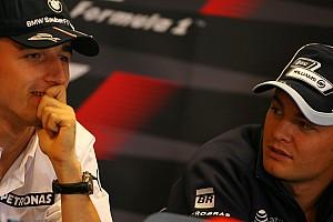 F1 Noticias de última hora Rosberg trabajará con Kubica para llevarlo a la F1
