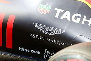 Formule 1 Actualités Aston Martin sera le sponsor titre de Red Bull en 2018