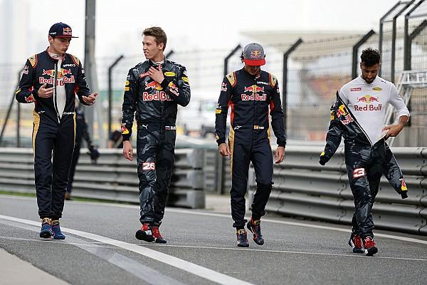 Red Bull y los cambios de pilotos que siempre dan que hablar