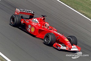 Ferrari do tetracampeonato de Schumacher vai a leilão