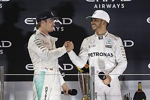 Росберг счел за комплимент слова Хэмилтона об их борьбе в Mercedes