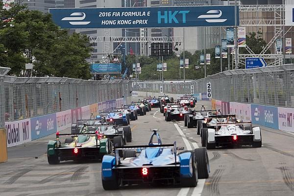 Hong Kong ePrix 1. yarış öncesi: Yarış gridi