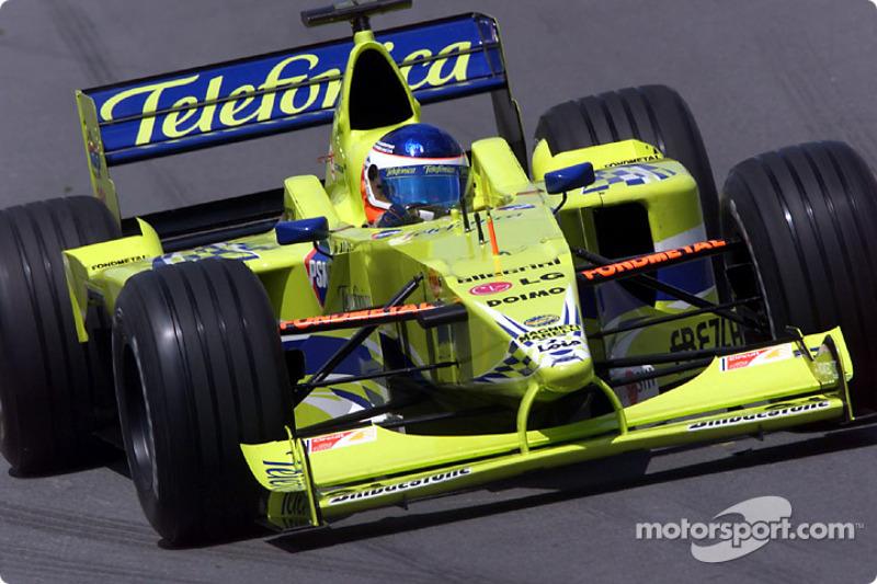 Gastón Mazzacane – GP dos Estados Unidos de 2000