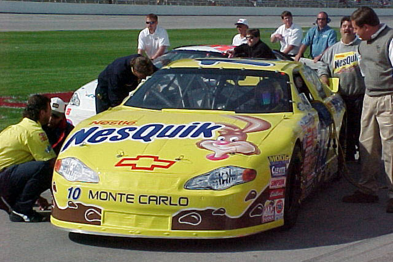 Jeff Green NesQuick car