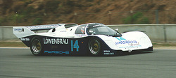 Exhibition Porsche 962 - Al Holbert's IMSA Lowenbrau