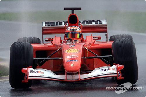Ferrari test sezonu