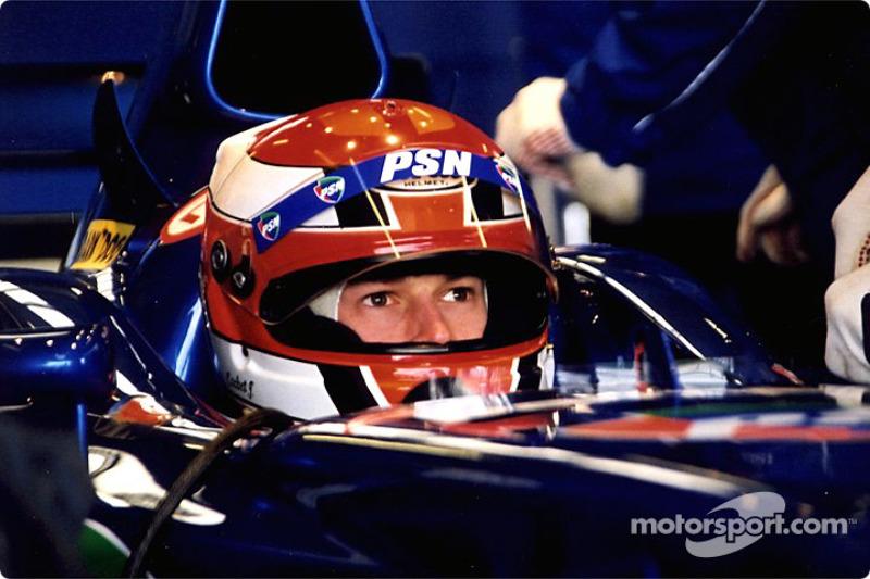 Jonathan Cochet in the garage