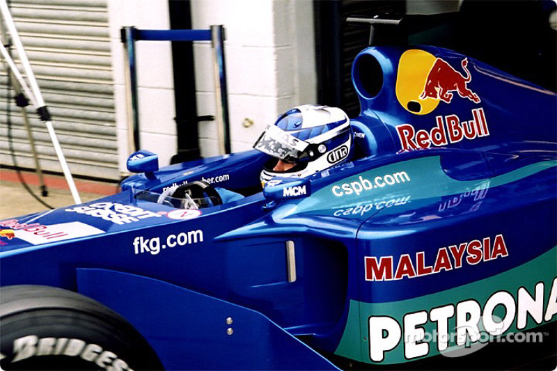 Kimi Raikonnen in the pits