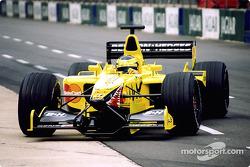 Ricardo Zonta in the pits