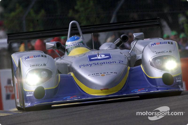 Norman Simon in the Chrysler LMP