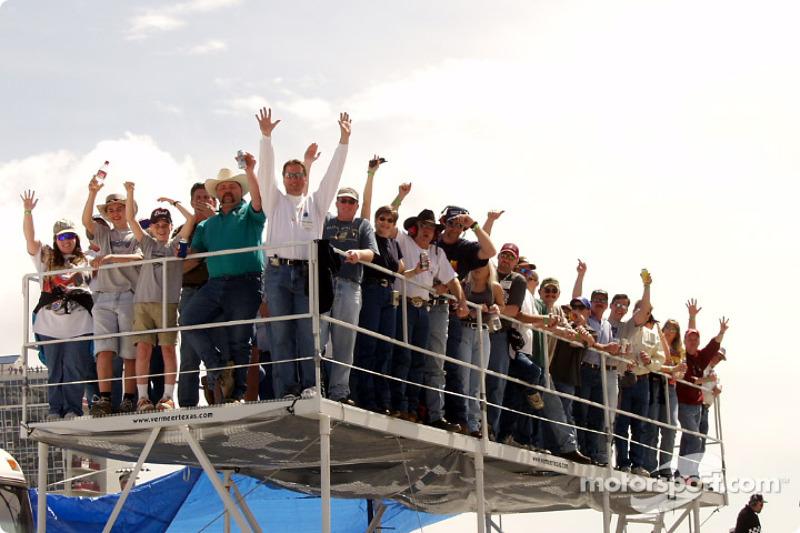Infield fans