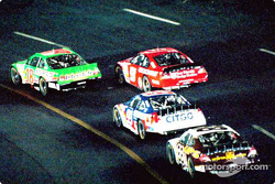 Bobby Labonte leading the pack