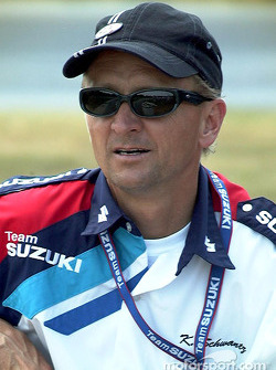 Le Champion du Monde Kevin Schwantz, Superbike