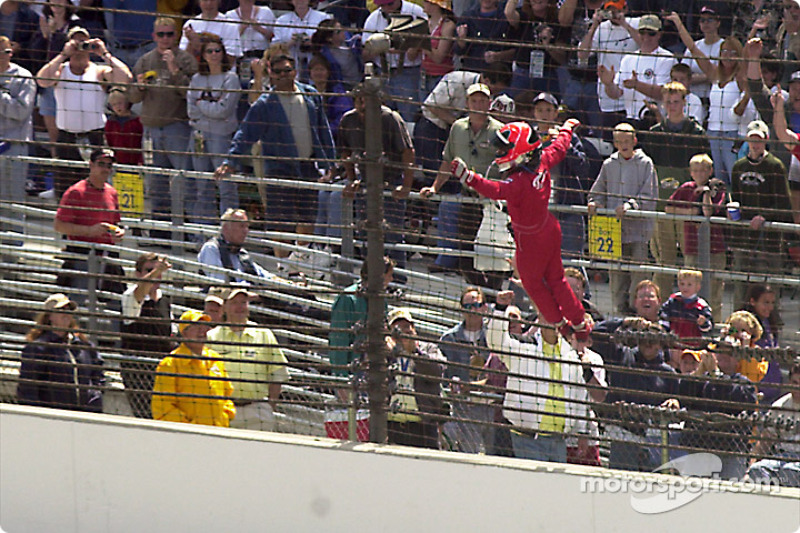 Helio Castroneves: 'Spiderman, Spiderman does whatever a spider can'
