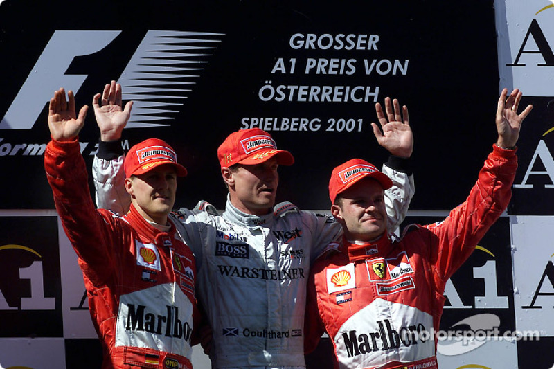 2001: David Coulthard
