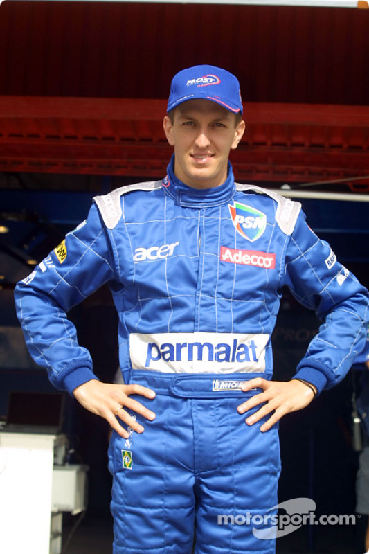 Luciano Burti in his new suit
