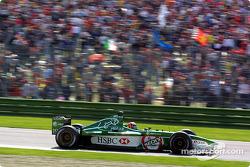 Лучано Бурті, Jaguar Cosworth