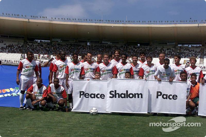 Hope for Children' charity football match