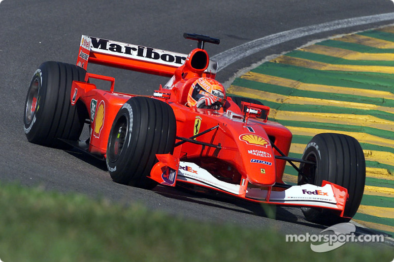 #35 GP du Brésil 2001 (Ferrari F2001)