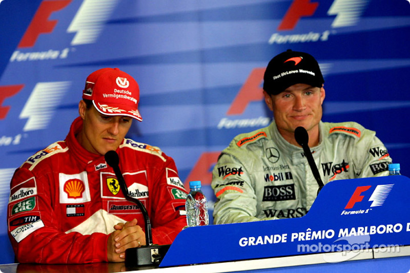 Conferencia de prensa: Michael Schumacher y David Coulthard
