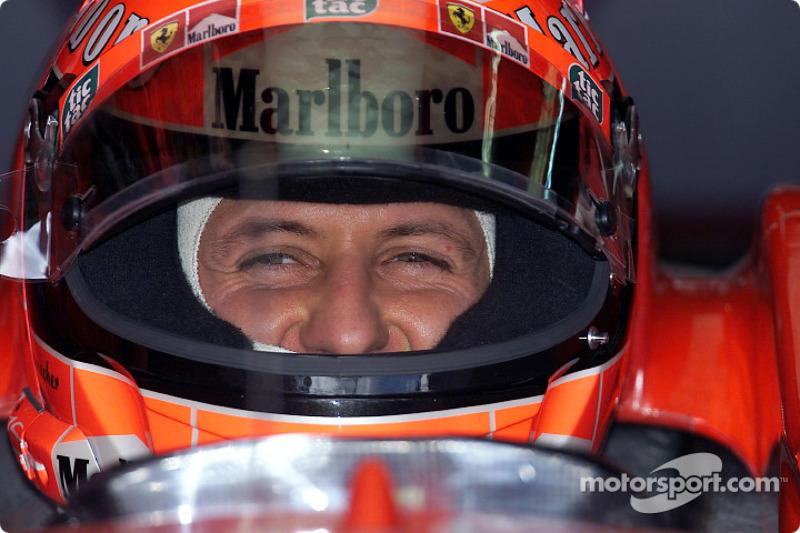 2001 Brazil GP - Ferrari F2001
