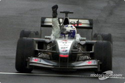 Victory for David Coulthard