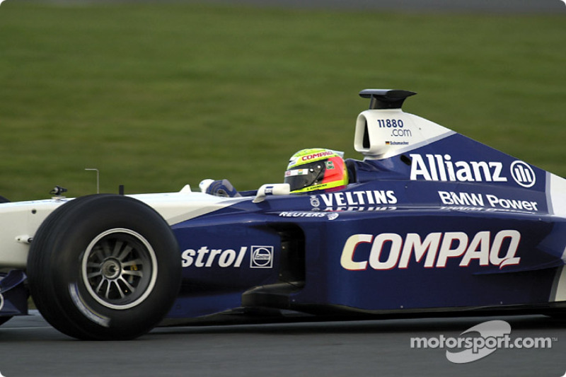 Ralf Schumacher at the wheel of the FW23