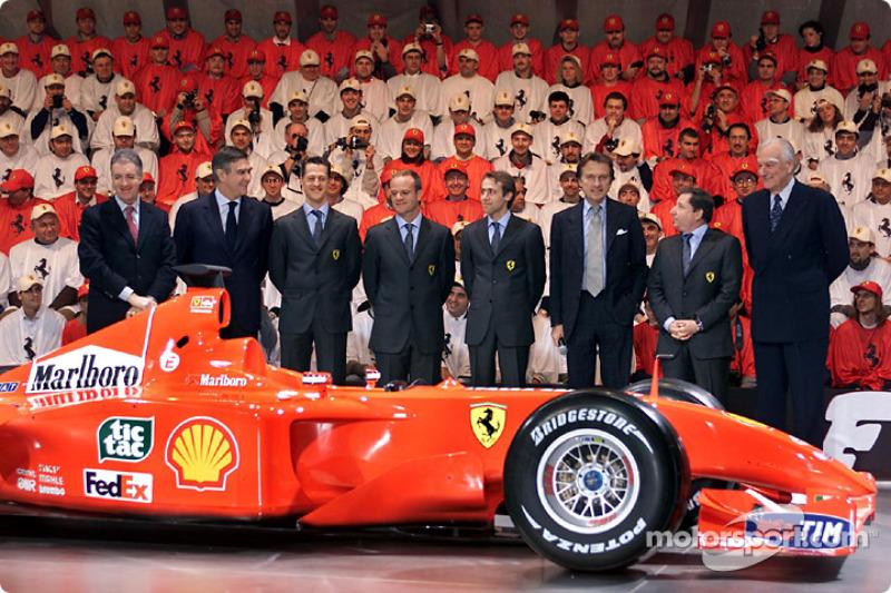 Команда і F2001