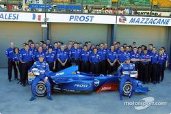L'équipe Prost Grand Prix et l'AP04