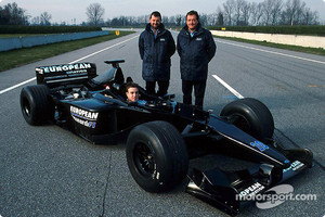 The European Minardi PS01 shakedown