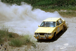 Carl Jardevall and Amity Trowbridge in a Volvo 740