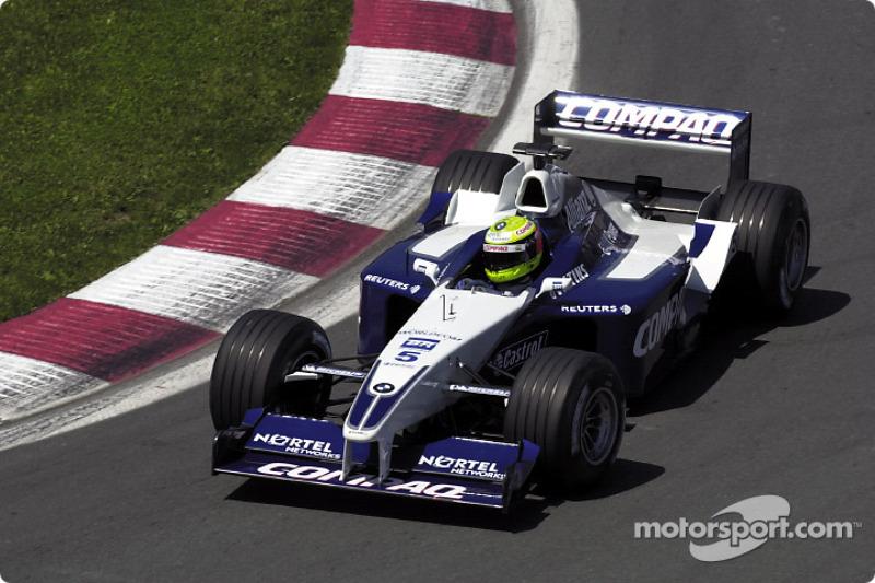 2001: Ральф Шумахер, Williams FW23 BMW