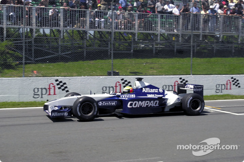 2001: Williams-BMW FW23