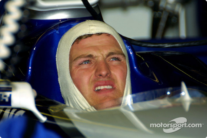 Ralf Schumacher, watching qualification