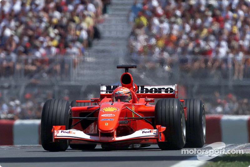 #38 GP du Canada 2001 (Ferrari F2001)