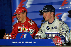 Press conference: Michael Schumacher and Ralf Schumacher