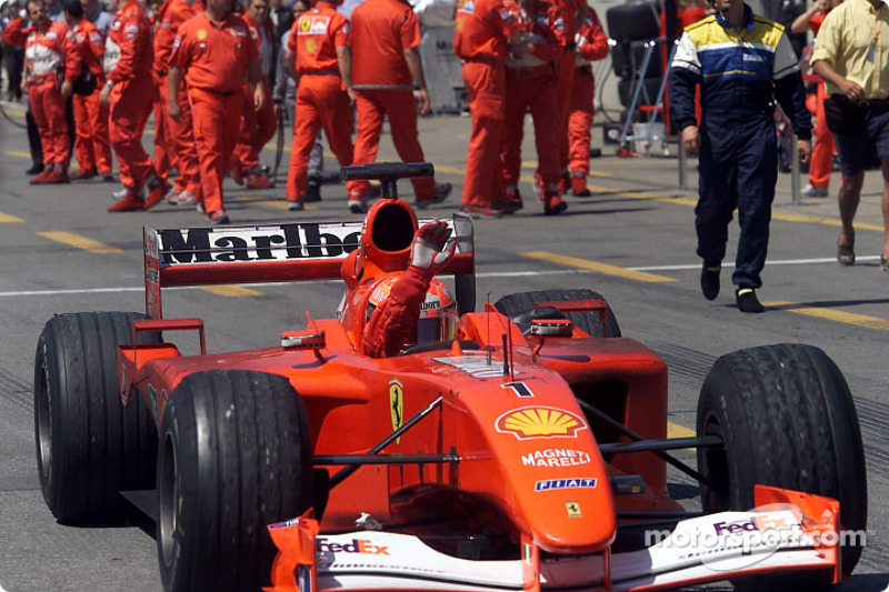 A second place for Michael Schumacher