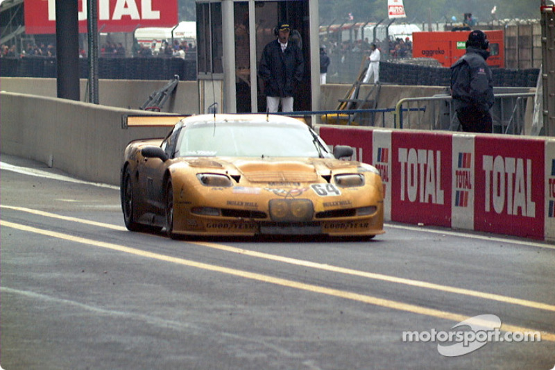 Corvette on pitlane