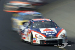 Jeff Burton at speed through turn 1