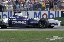 Race winner Ralf Schumacher