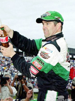 Race winner Bobby Labonte